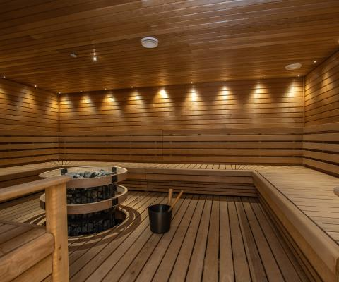 Sauna @Hotelredgreen
