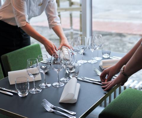 Happy dinner @ Hotel Red & Green Närpiö