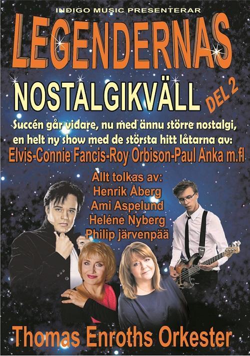 Nostalgikväll 16.3 Närpes