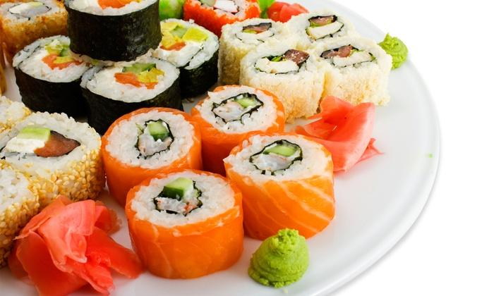 Sushi buffet Närpes 3.5 Hotel Red & Green 2019