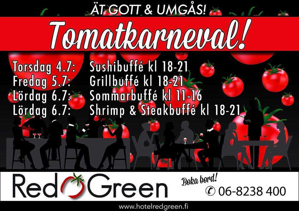 Tomatkarnevalen 2019 Närpes Red & Green